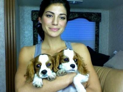 Genevieve Padalecki dogs