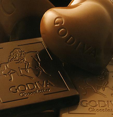 Godiva cokelat