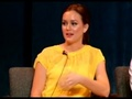Gossip Girl Cast Interview at Paley - leighton-vs-blake screencap