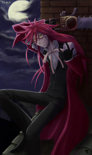 Grell fan art