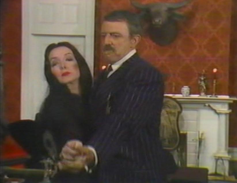 Gomez and morticia dance