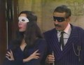 Halloween With the New Addams Family - Fake Morticia &amp; Gomez - addams-family photo