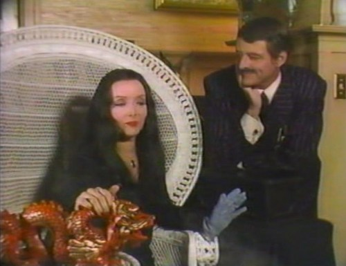 "Mortcia to Pancho: ""It's so nice when a woman knows she's wanted by a man who can't have her"" - addams-family Photo"