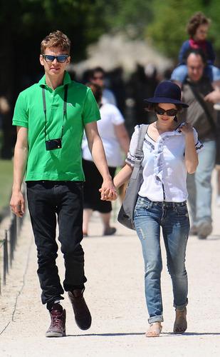 Hayden Christensen and Rachel Bilson at the French Open