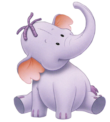 O Ursinho Puff wallpaper entitled Heffalump