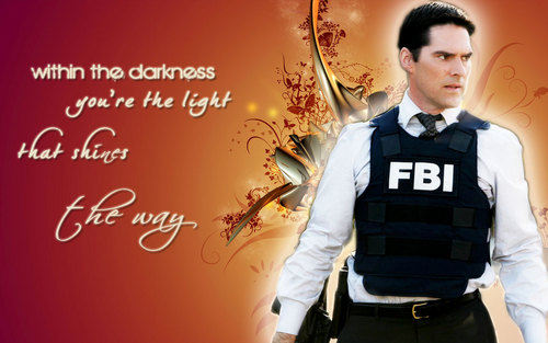 Criminal Minds wallpaper with a bulletproof vest titled Hotch