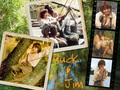 Huck Finn and Jim - elijah-wood wallpaper