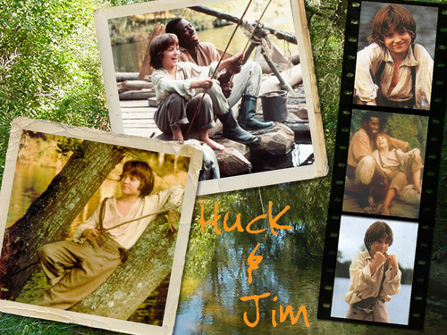 Huck Finn and Jim