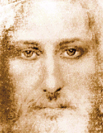 Image Of Gesù On The Turin Shroud