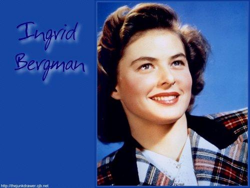 Ingrid Bergman Hintergrund