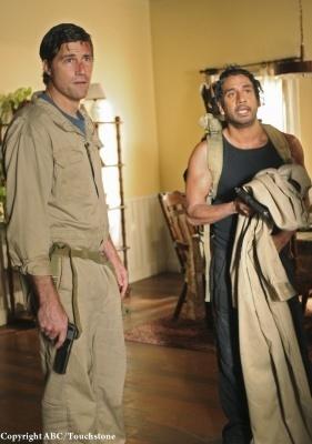 Jack and Sayid