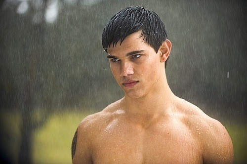 Jacob in the rain