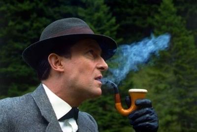 Sherlock Holmes দেওয়ালপত্র titled Jeremy Brett - Sherlock Holmes