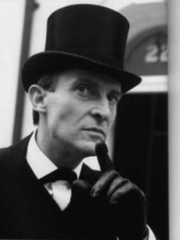 Sherlock Holmes hình nền probably with a business suit called Jeremy Brett - Sherlock Holmes
