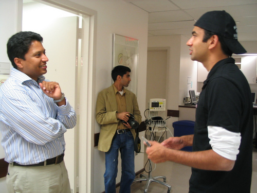 Kal Penn Working with Match Pia