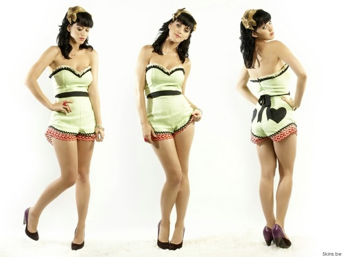 Katy Perry wallpaper possibly containing a bustier called Katy