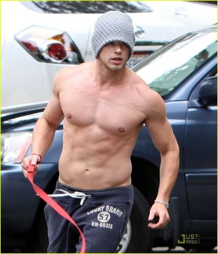 Kellan..running...shirtless
