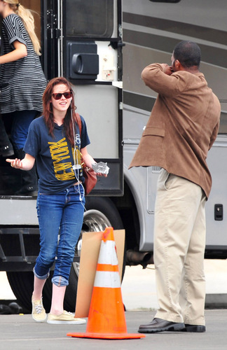 Kristen Stewart - Santa Monica Pier shoot - June 2
