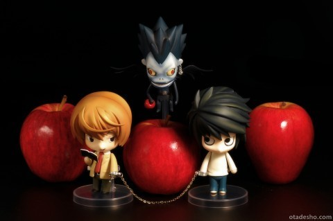 L, Kira, Ryuk Puppen