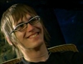 Ladies and gents: I give you Mikey Way smiling. Shocking, I know. - mcrmy photo