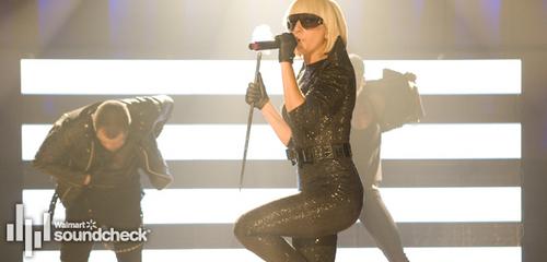 Lady Gaga Soundcheck