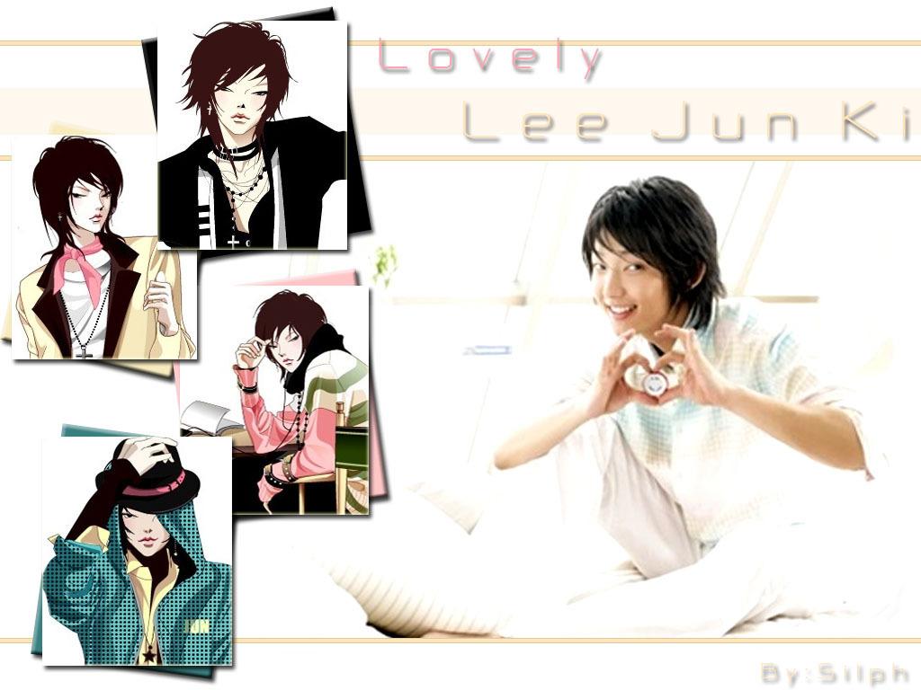 Jun-ki Lee - Wallpaper Actress