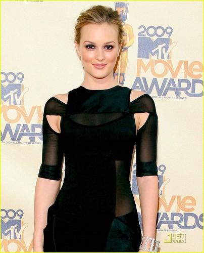 Leighton Meester - एमटीवी Movie Awards 2009