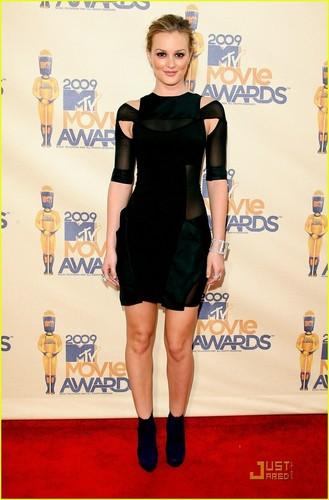 Leighton Meester - MTV Movie Awards 2009