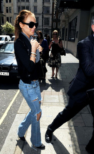Lindsay in Londra