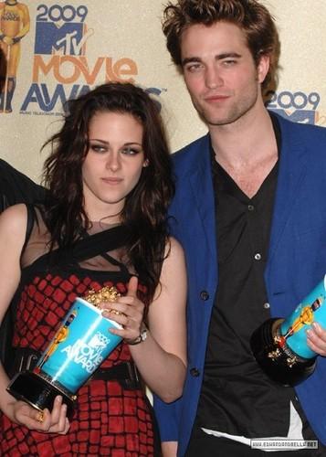 kristen stewart 2009 mtv movie awards
