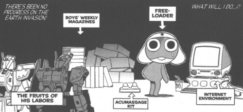 Manga Panel: Vol 2 - sgt-frog-keroro-gunso Photo