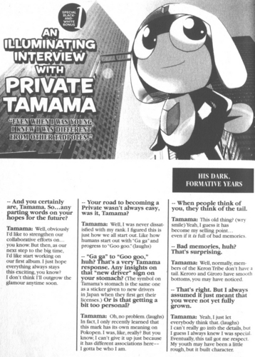 mangá Vol 2: Interview with Tamama