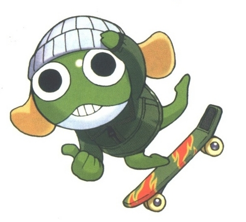 Sgt. Frog (Keroro Gunso) wallpaper probably with anime entitled Manga Vol 3: Color Manga Image