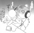Manga Vol 3: Kururu - sgt-frog-keroro-gunso photo