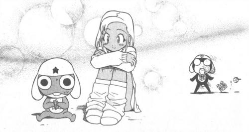 Manga Vol 3: Moa & Keroro