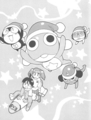 Manga Vol 3: Title Page - sgt-frog-keroro-gunso photo