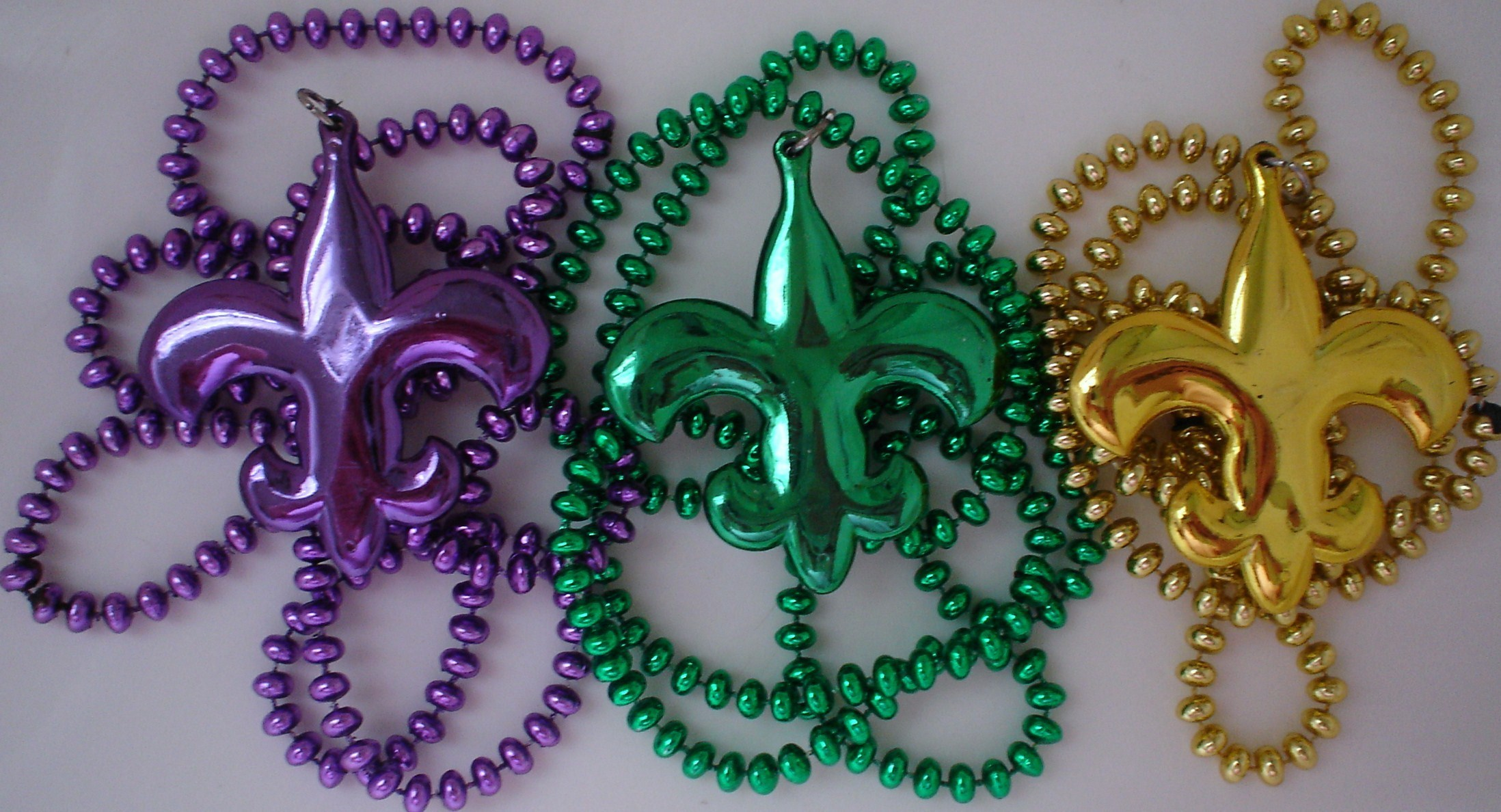 New Orleans Mardi Gras Beads