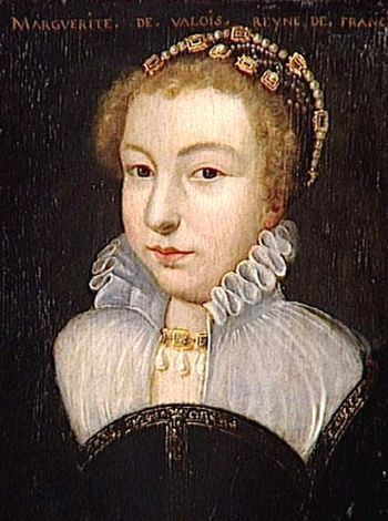 Marguerite de Valois, reyna of France