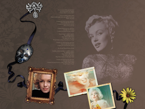 Classic Movies wallpaper entitled Marilyn