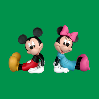 Mickey and Minnie images Mickey and Minnie Figurines wallpaper and ...