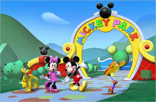 Mickey and Minnie chuột