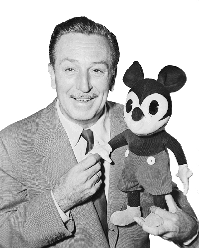 Mickey and Walt Дисней