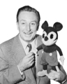 Mickey and Walt Disney