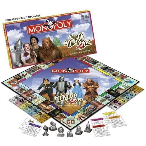 Monopoly Wizard of Oz Edition