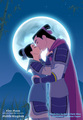 Mulan and Shang - disney-couples photo