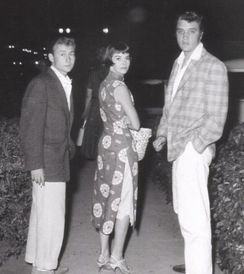 Natalie with Elvis and Nick Adams
