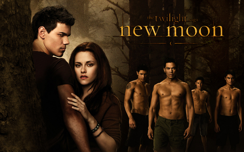 Taylor Lautner پیپر وال possibly with عملی حکمت entitled New Moon