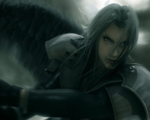 One winged angel - sephiroth Wallpaper