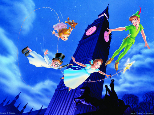 disney wallpaper called Peter Pan wallpaper