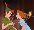 Peter Pan, Wendy and Tinkerbell - peter-pan photo